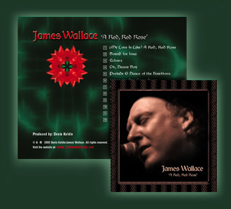 James Wallace A Red Red Rose USA and Canada and International